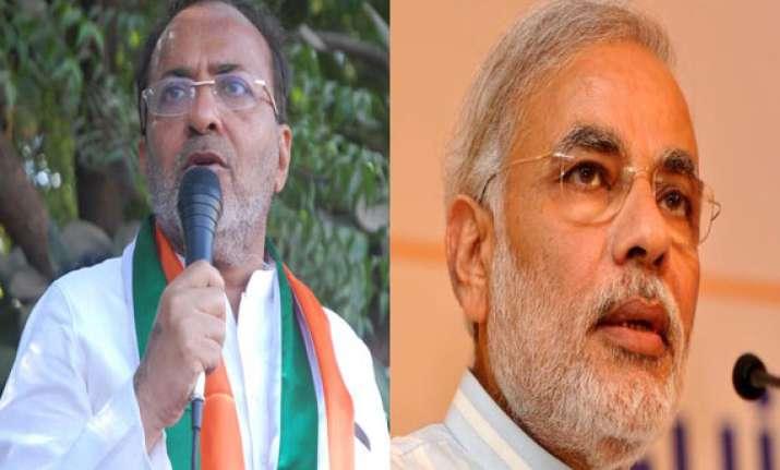 modi s development claims are filmy dialogues congress