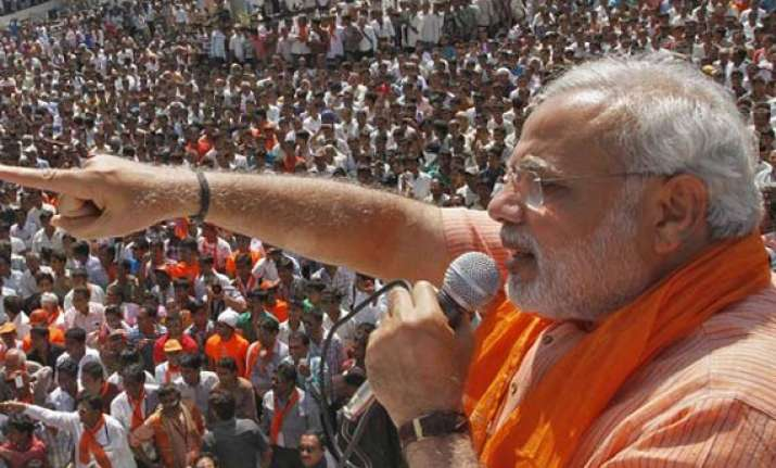 modi s ticketed rallies bjp hits back at congress