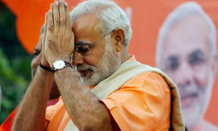 modi says it s an honour for him to contest from varanasi