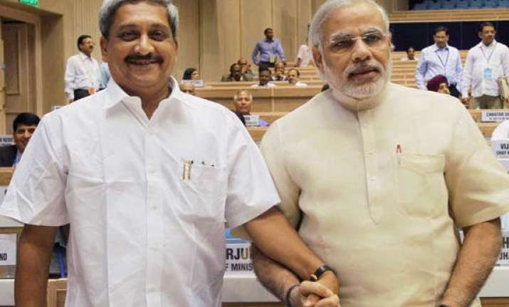 modi should be made bjp s face for ls polls goa cm