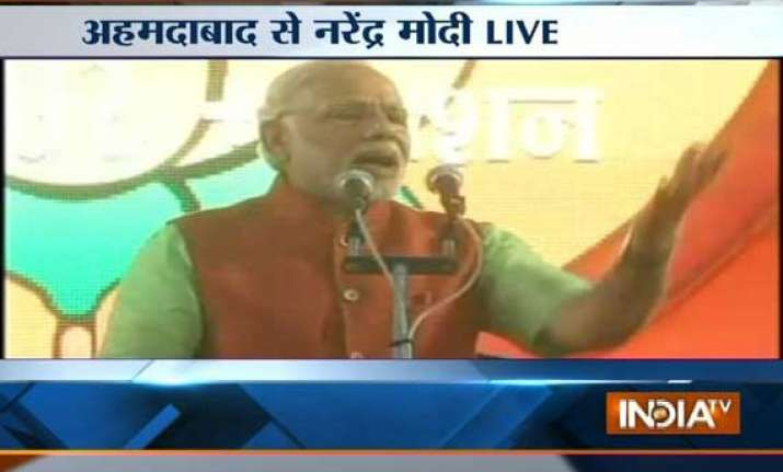 modi tells youth rally voters this time will punish