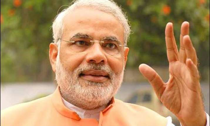 modi thanks people ec and social media at the end of polls