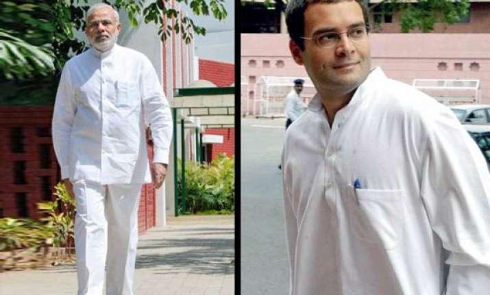 modi criticises rahul for his hero remark