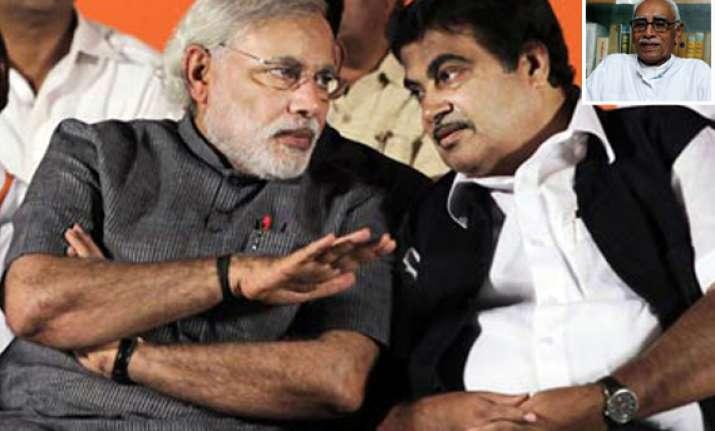 gadkari describes rss leaer vaidya s remarks on modi