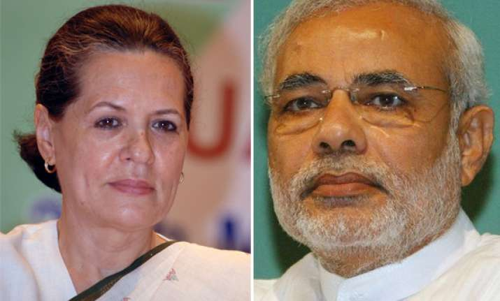 modi govt indulging in hera pheri irregularities says sonia