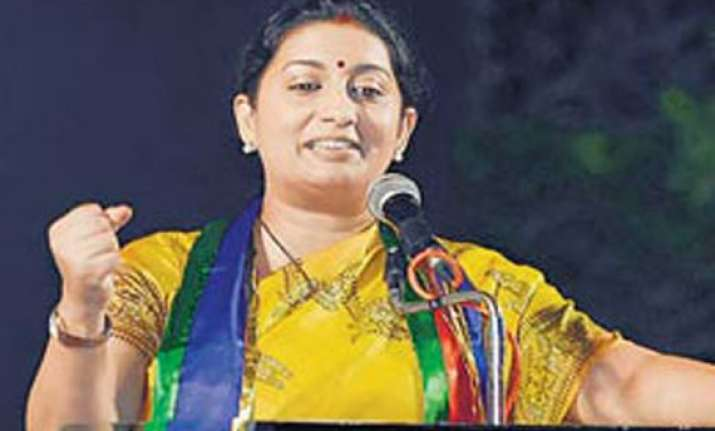 modi is like lord shiva smriti irani tells voters