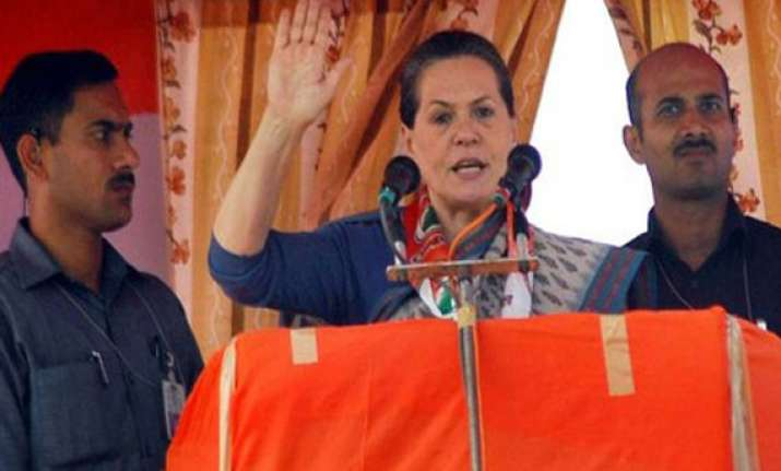 modi misleading people in name of development sonia gandhi