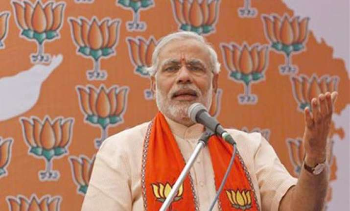 modi hattrick in gujarat congress wrests himachal pradesh