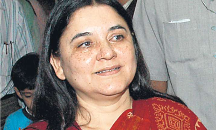 mukherjee excellent presidential candidate says maneka