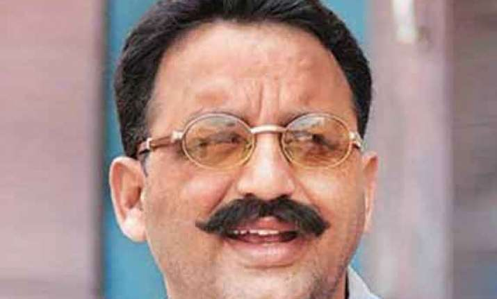 mukhtar ansari to contest from ghosi
