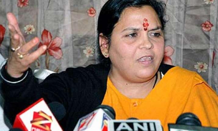 mulayam mayawati betraying dalits says uma