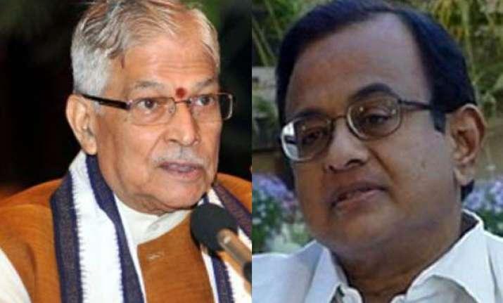 murli manohar joshi targets chidambaram calls him a failure