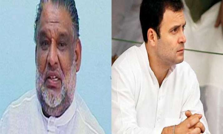 congress suspends ex minister for calling rahul a joker