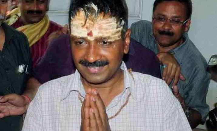 my fight in only against modi says kejriwal