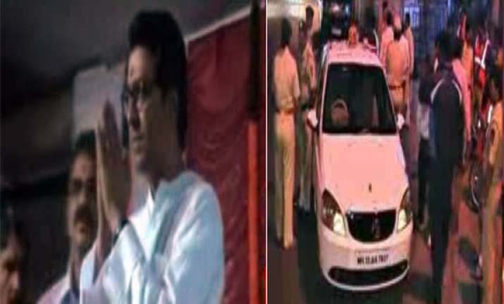 ncp mns activists turn to violence in maharashtra