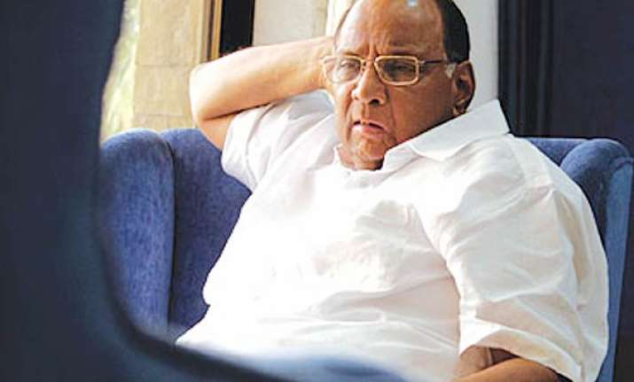 ncp may not have tie up for zp polls if cong not keen pawar