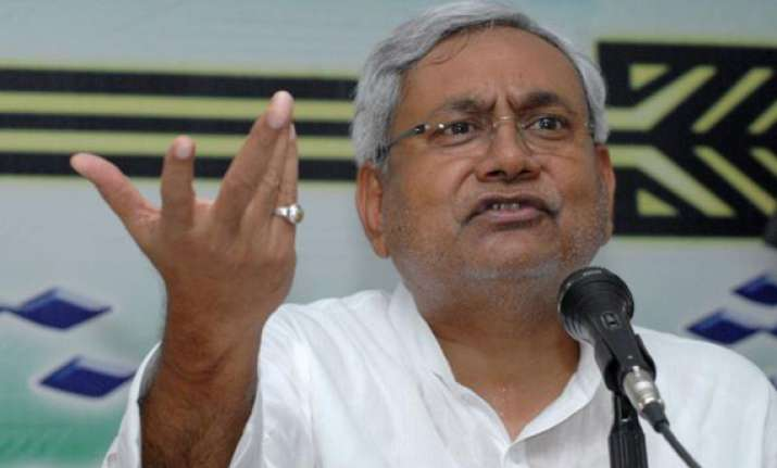 nda s pm candidate should be from bjp nitish kumar