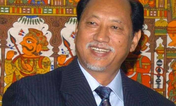 nagaland cm neiphiu rio resigns to head for lok sabha