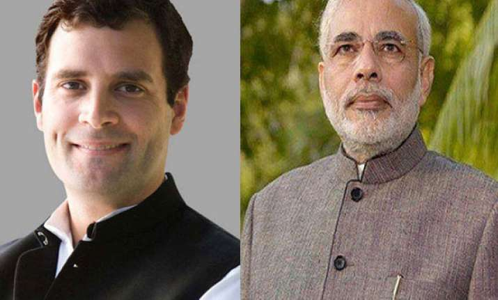 narendra modi rahul gandhi address poll meetings in same day