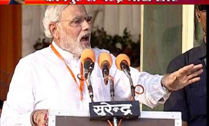 narendra modi throw out congress if you love your children