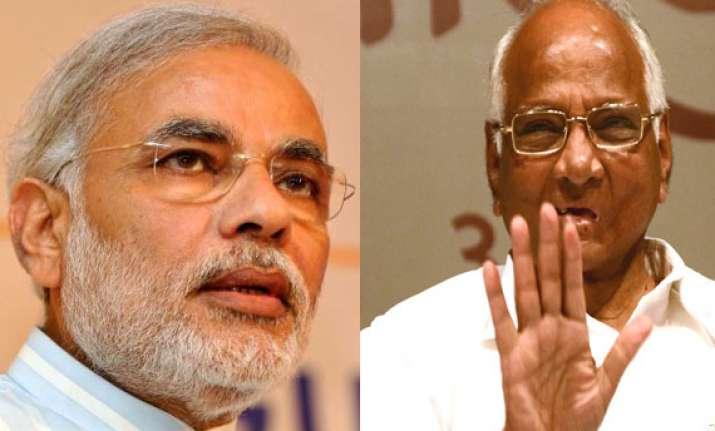 narendra modi is myopic ignoramus says sharad pawar