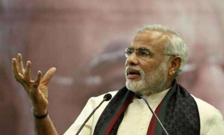 narendra modi in negative faces list 6 arrested released on