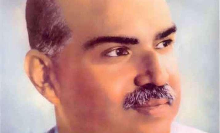 narendra modi remembers shyama prasad mookerjee