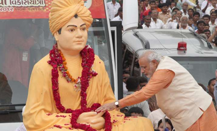 narendra modi to promote movie on swami vivekananda