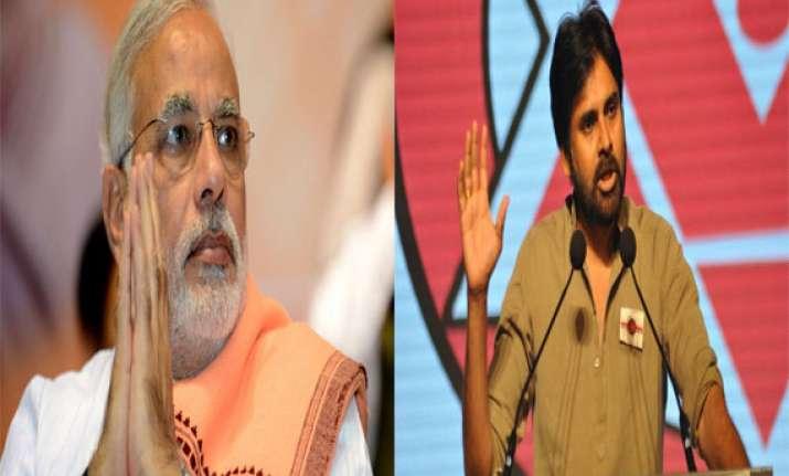 narendra modi will lead country to progress pawan kalyan