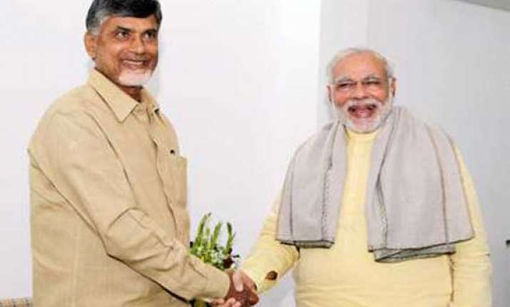 narendra modi wishes chandrababu naidu assures support