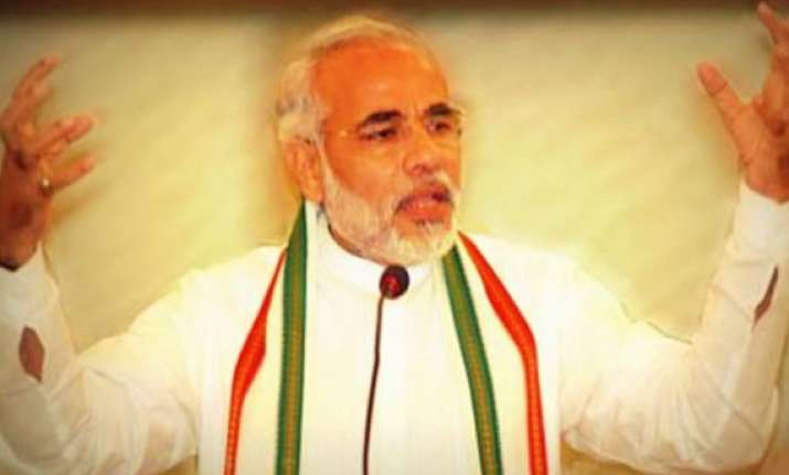narendra modi to fight election from maninagar constituency