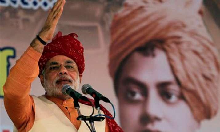 national bjp leaders praise narendra modi for gujarat