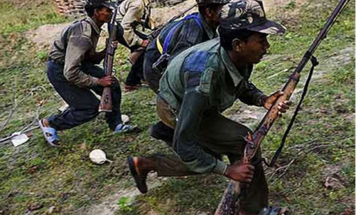 naxals launches anti poll posters war panic prevails