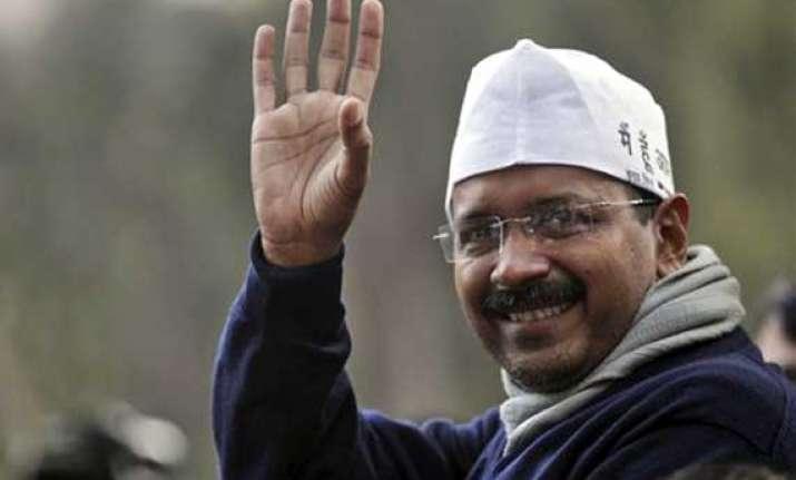 never imagined i would get into politics arvind kejriwal