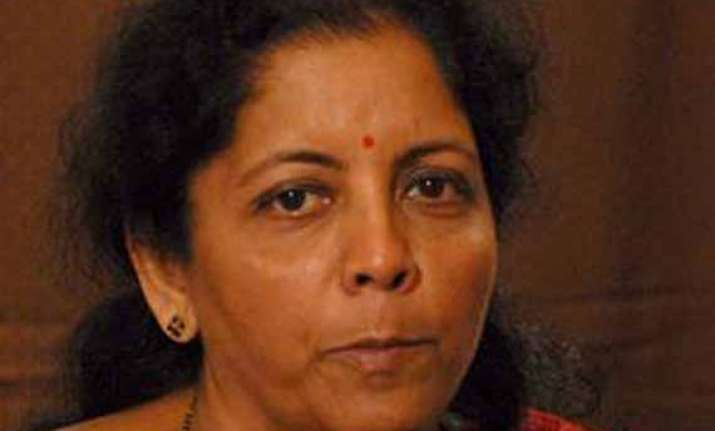 nirmala sitharaman likely to take rs route from andhra
