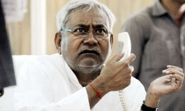 nitish kumar falls in his own trap in bihar
