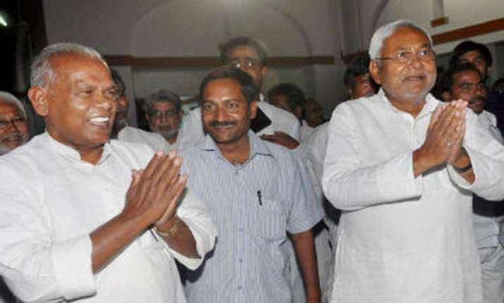 dalit leader jitan ram manjhi to be new cm of bihar