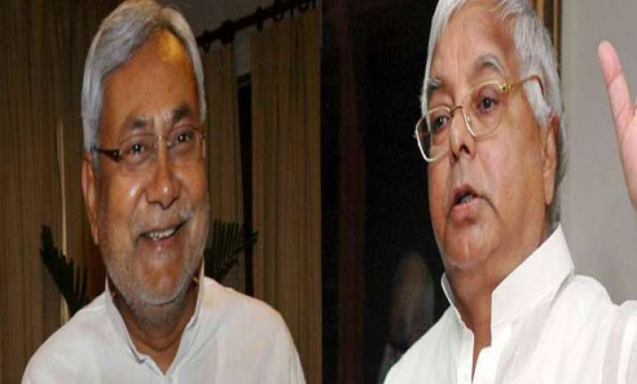 nitish asks lalu to be ready to face more short circuits