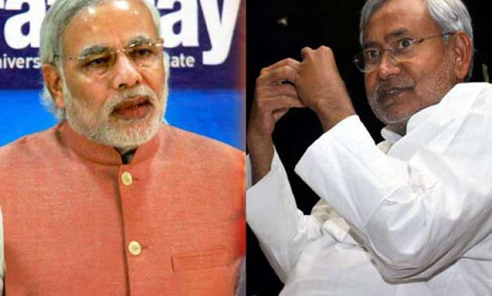 nitish dismisses modi wave as one created by corporate