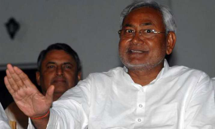 nitish govt has no moral right to be in power bjp