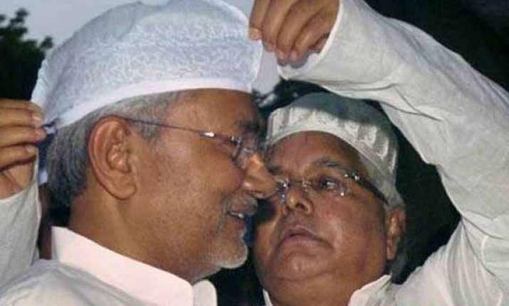 rs bypoll a worried nitish kumar talks to lalu prasad to