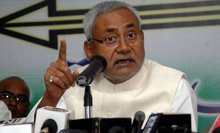 nitish not to contest assembly poll jd u