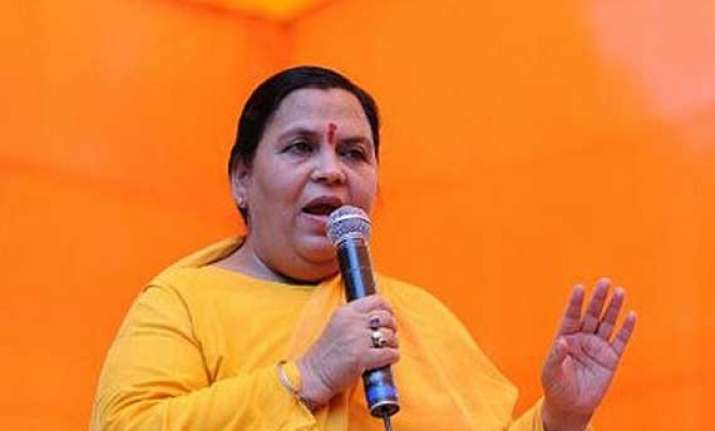 no inter linking projects in states not keen uma bharti
