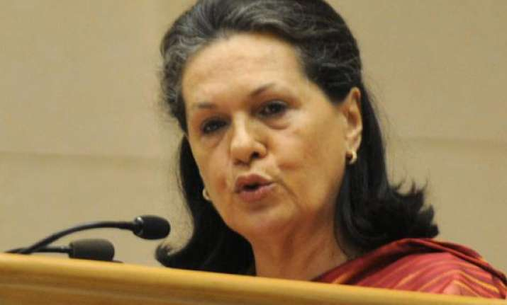 no poor in india will remain hungry sonia gandhi