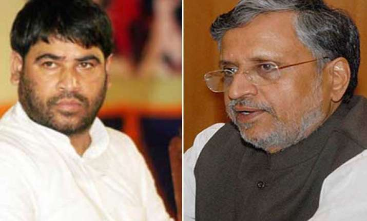 no question of sadhu yadav joining bjp sushil modi