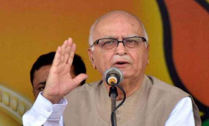 no room for lk advani in parliament