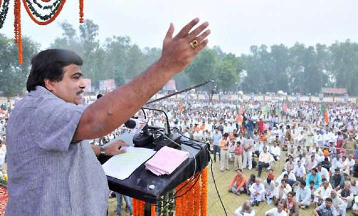 no post poll alliance in uttar pradesh says gadkari