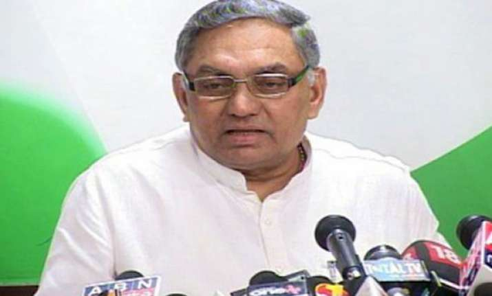 no name finalised yet for president s poll says congress