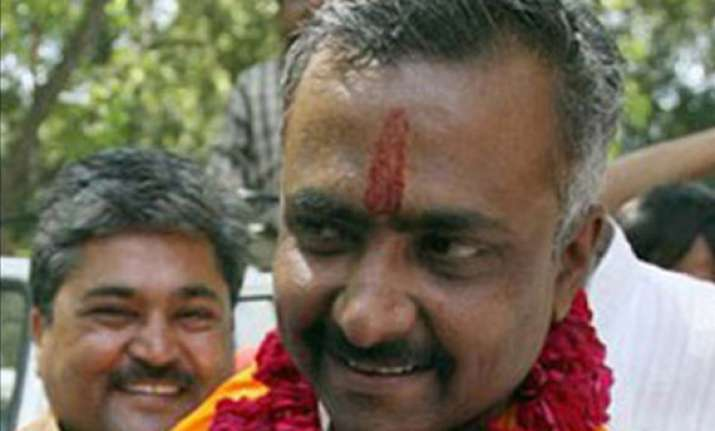 no posters hitting out at bjp leaders appeals sanjay joshi
