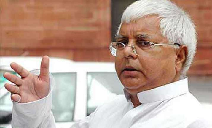 not aligning with congress in 2009 was a mistake lalu